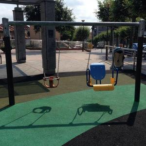 Columpios de exterior para bebés y niños pequeños