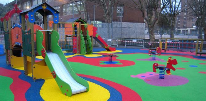 Normativa de seguridad para parques infantiles exteriores, públicos y privados.